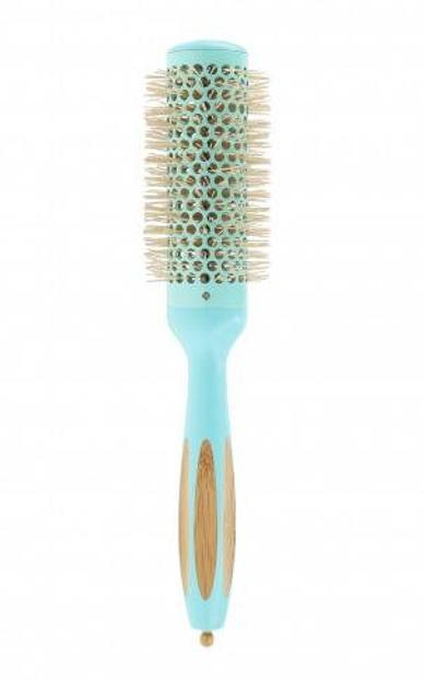 ILU Okrągła szczotka do modelowania włosów Bamboom Round 35mm OCEAN BREEZE