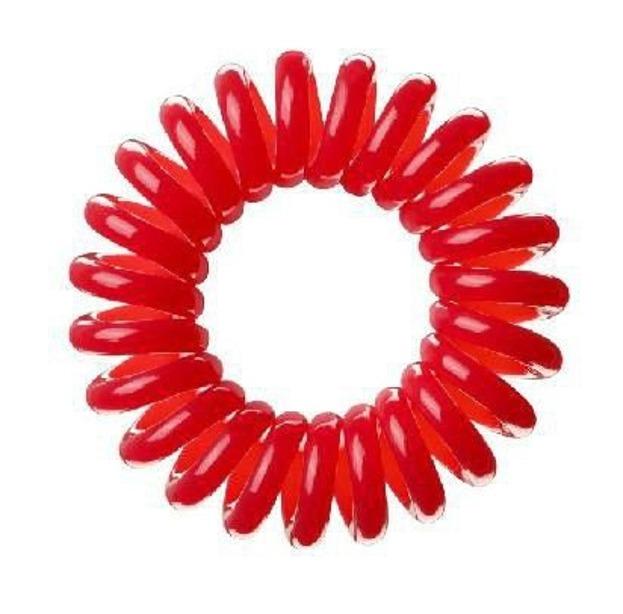 INVISIBOBBLE Czerwone gumki do włosów, opakowanie 3 sztuki
