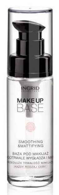 Ingrid Smoothing & Mattifying Makeup Base - Wygładzająco - matująca baza pod makijaż,  30 ml
