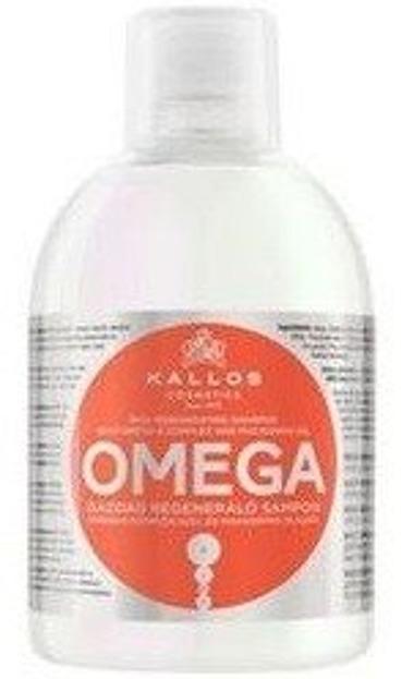 KALLOS OMEGA regenerujący szampon do włosów z kwasami omega i witaminami 1000ml