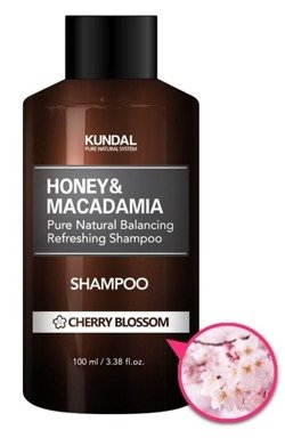 KUNDAL Hair Shampoo Szampon do włosów CHERRY BLOSSOM 100ml