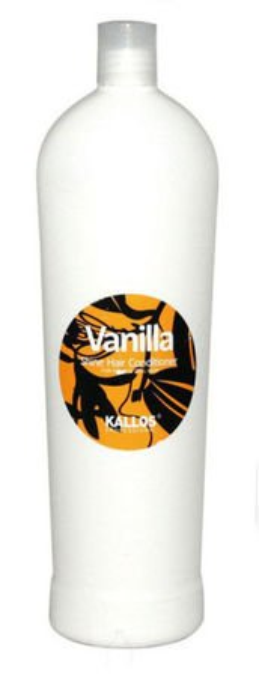 Kallos Vanilla Shine Hair Conditioner - Odżywka nabłyszczająca do włosów, 1000 ml