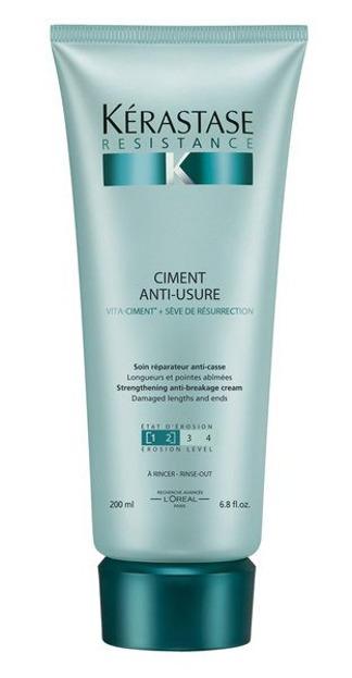 Kerastase Resistance Ciment Anti-Usure - Cement odbudowujący Odżywka do włosów osłabionych, 200ml