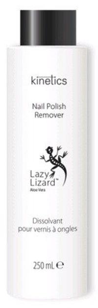Kinetics Polish Remover BLACK Lizard Aloe Zmywacz do paznokci 225ml