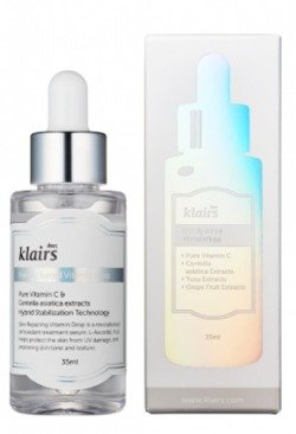 Klairs Freshly Juiced Vitamin Drop Serum z kwasem L-askorbinowym (5%) oraz ekstraktami roślinnymi 35ml