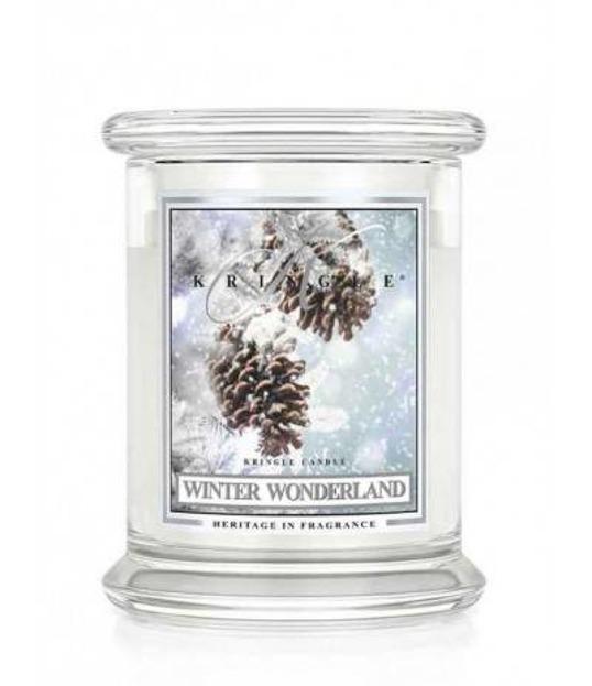 Kringle Candle Słoik Średni Winter Wonderland 411g