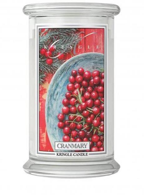 Kringle Candle duży słoik Cranmary 624g