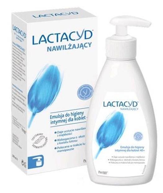 LACTACYD Nawilżająca emulsja do higieny intymnej 200ml