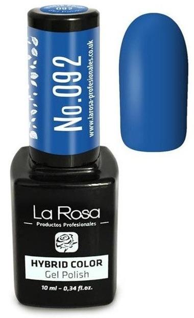 La Rosa Gel Polish Hybrid Color Lakier hybrydowy 092 10ml
