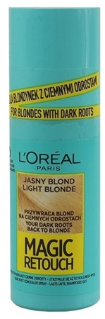 Loreal Magic Retouch Spray na odrosty Złocisty blond 75ml