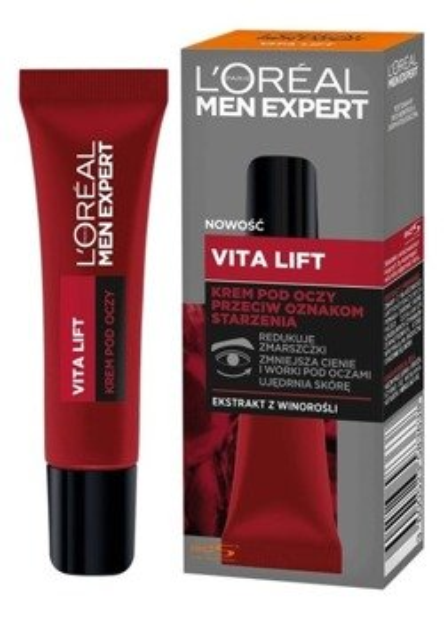 Loreal Men Expert Vita Lift Krem pod oczy przeciw starzeniu 15ml