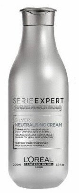 Loreal Professionnel Expert SIlver Cream Krem do siwych włosów 200ml