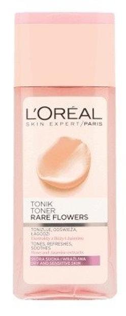 Loreal Rare Flower Tonik łagodzący do twarzy 200ml