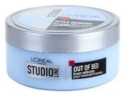 Loreal Studio Line 6 Out of Bed Krem włóknisty do włosów 150ml