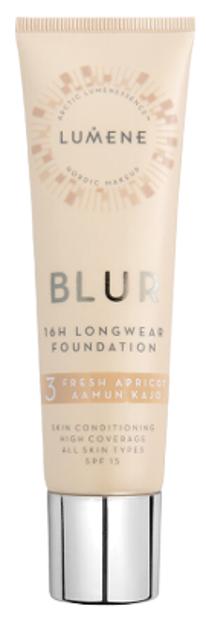 Lumene Blur Podkład wygładzający 3 Fresh Apricot 30ml