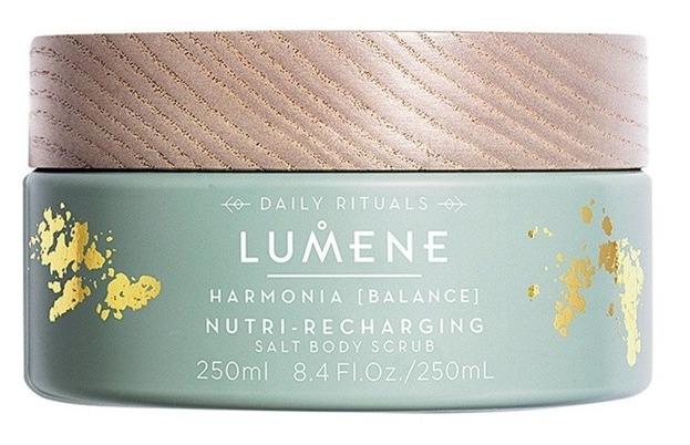 Lumene Harmonia Nutri-recharging Salt Body Scrub Peeling do ciała 250ml