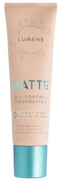Lumene  Matte Control Podkład matujący 0 Light Ivory 30ml