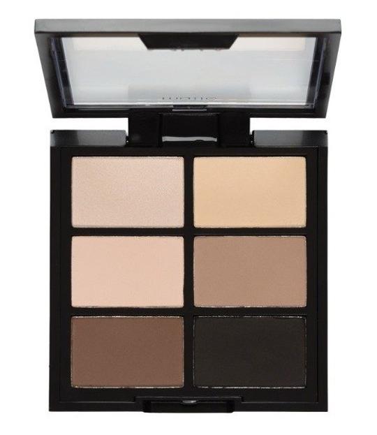 MUA 6 Shade Palette Paleta 6 cieni do powiek Matte Natural Essentials