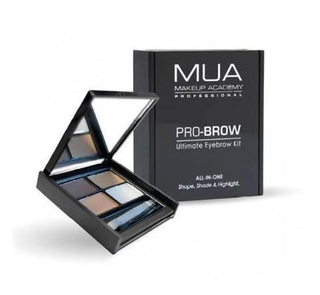 MUA Pro-Brow Ultimate Eyebrow Kit Paleta do stylizacji brwi Fair-Mid
