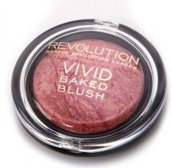 Makeup Revolution Baked Blushers - Wypiekany róż do policzków  Loved me the Best