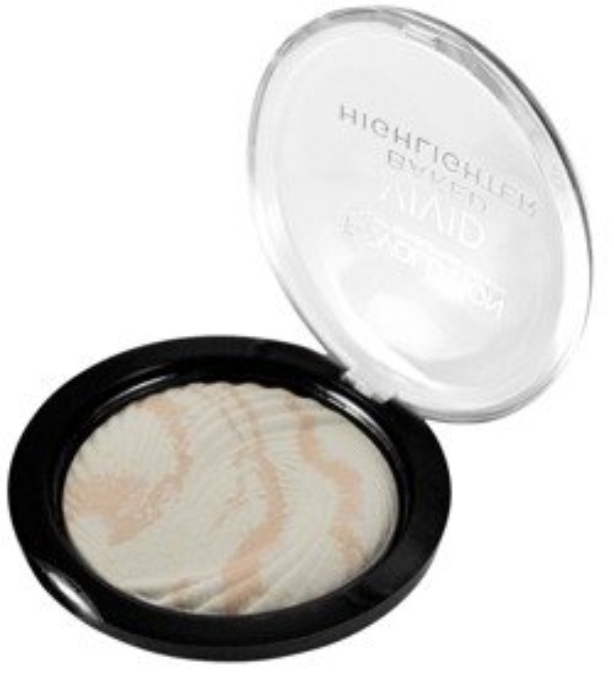 Makeup Revolution Baked Highlighter Matte Lights Wypiekany rozświetlacz do twarzy