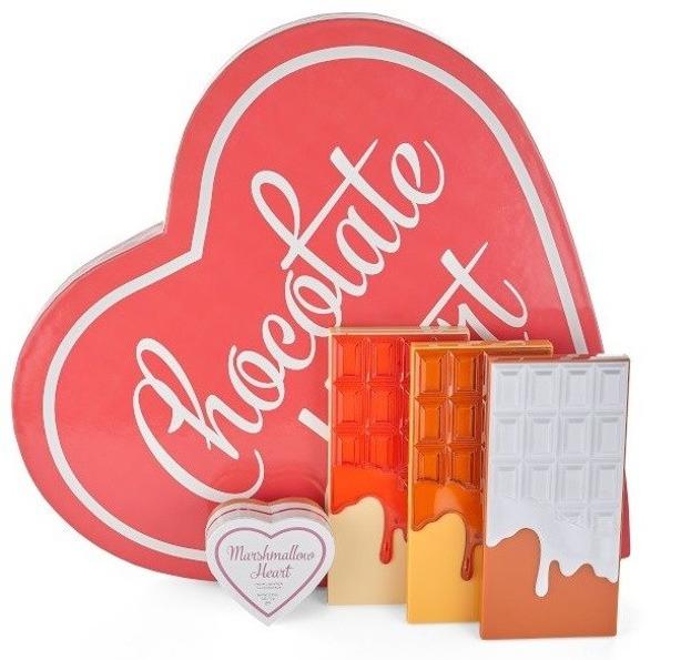 Makeup Revolution Chocolate Heart Zestaw Wyjątkowy Prezent