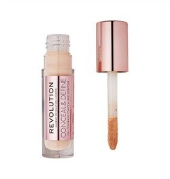 Makeup Revolution Conceal and Define Concealer Korektor do twarzy C6