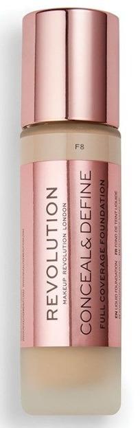 Makeup Revolution Conceal and Define Foundation Full Coverage Kryjący podkład do twarzy F8 23ml