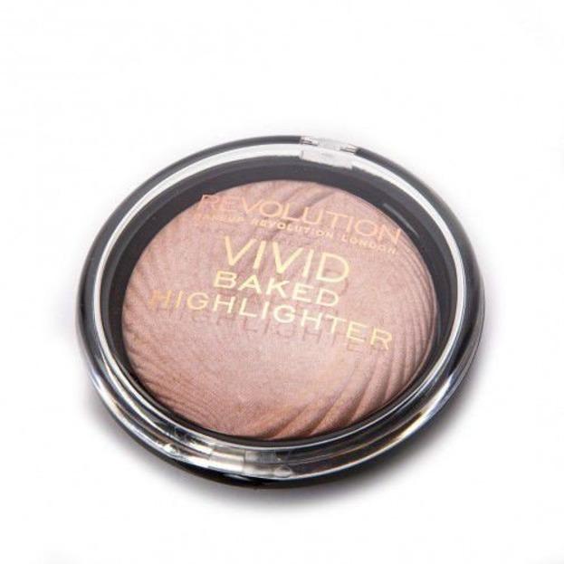 Makeup Revolution Highlighter - Rozświetlacz Peach Lights 7,5g