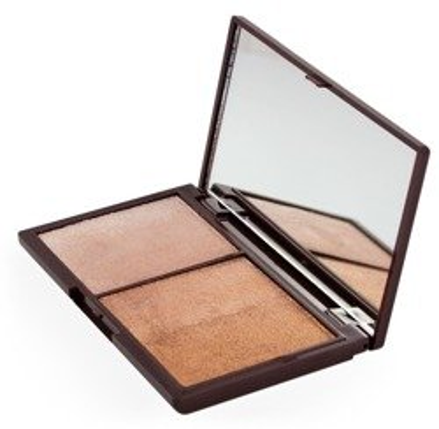 Makeup Revolution I Heart Makeup Czekoladka Bronze and Shimmer  Paleta do konturowania
