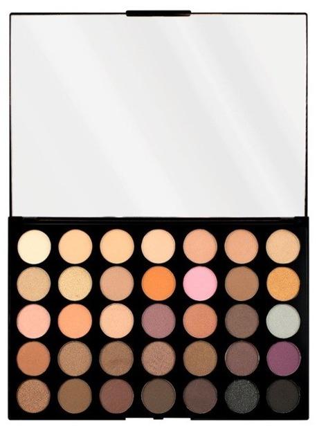 Makeup Revolution PRO HD Amplified 35 Palette Neutrals Warm Paleta 35 cieni do powiek