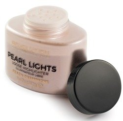 Makeup Revolution Pearl Lights Loose Highlighter Puder rozświetalający Peach Champagne 42g