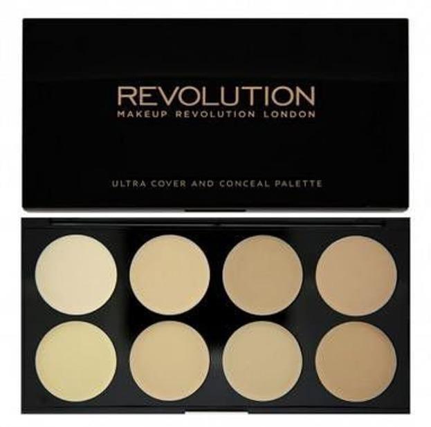 Makeup Revolution Ultra Cover&Concel palette light