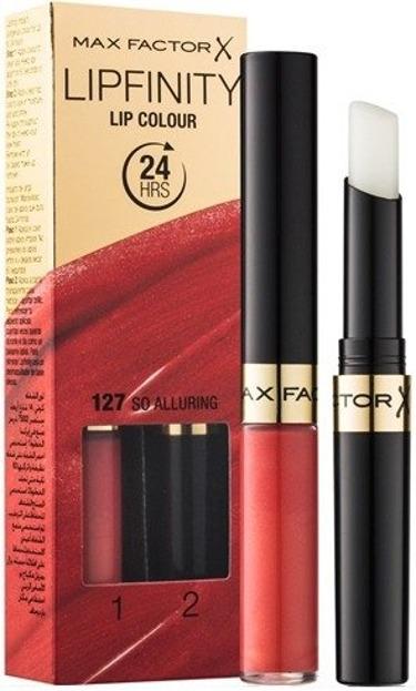 Max Factor Lipfinity Lip Colour Pomadka do ust + Baza nabłyszczająca 127