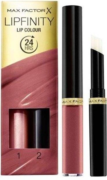 Max Factor Lipfinity Lip Colour Pomadka do ust + Baza nabłyszczająca 180