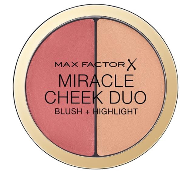 Max Factor Miracle Cheek Duo Blush + Highlight Duo róż + rozświetlacz 20 11g