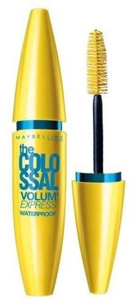 Maybelline Colossal Volum' Express Waterproff BLACK - Wodoodporny tusz pogrubiający do rzęs