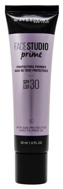 Maybelline Face Studio 60 Procecting Primer Baza ochronna pod makijaż SPF30 30ml