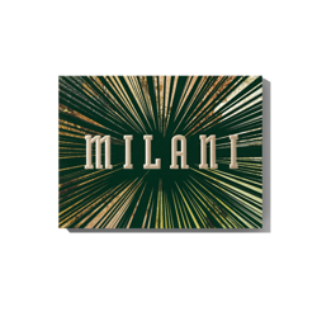 Milani GILDED JADE Eye&Face Palette Paleta do makijażu