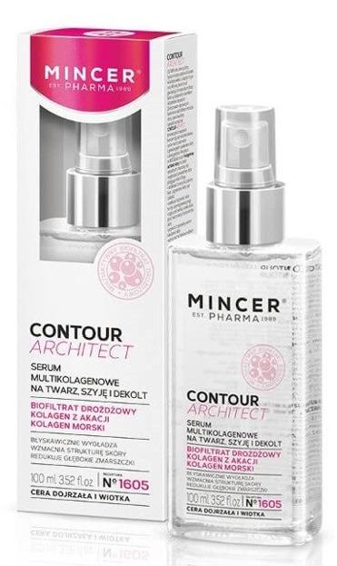 Mincer Pharma Contour Architect Serum multikolagenowe na twarz, szyję i dekolt 100ml