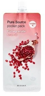 Missha Pure Source Pocket Pack POMEGRANATE Maseczka na noc 10ml
