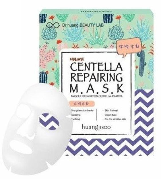 NEW FEEL Regenerująco-naprawcza maska do twarzy w płachcie Centella Repairing 25ml