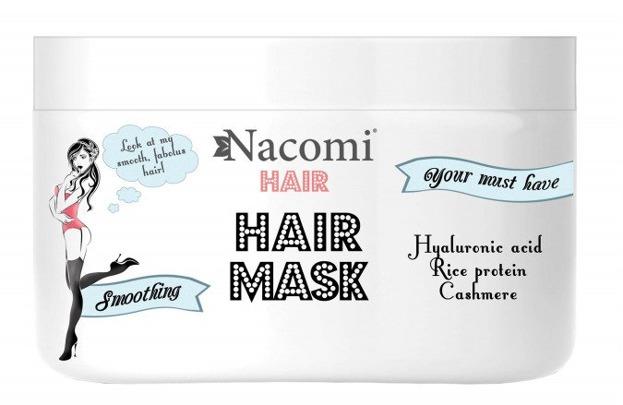 Nacomi Maska wygładzająco-nawilżająca do włosów 200ml