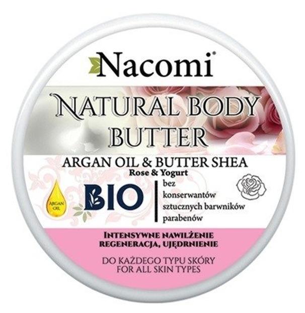 Nacomi Naturalny balsam do ciała z masłem shea Róża i Jogurt 100ml