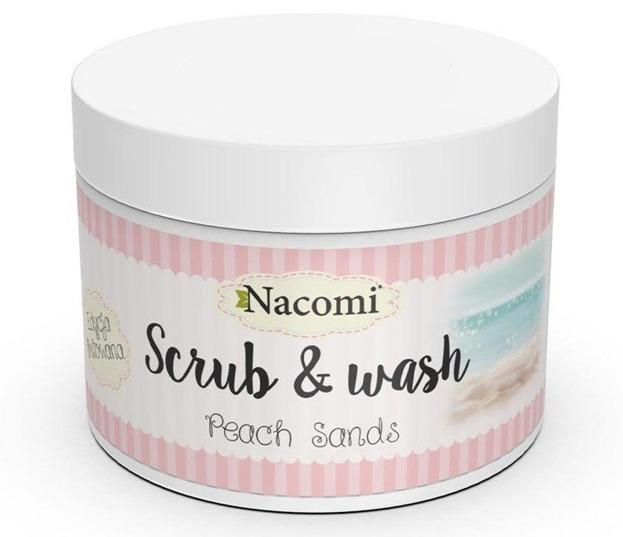 Nacomi Pianka peelingująco-myjąca Peach Sands 180g