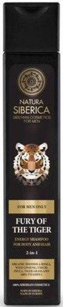 Natura Siberica - Szampon dla mężczyzn 2 w 1 do Włosów i Ciała Energia Tygrysa 250 ml
