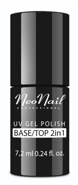 Neonail Base/Top 2in1 baza i top pod lakier hybrydowy 7,2ml