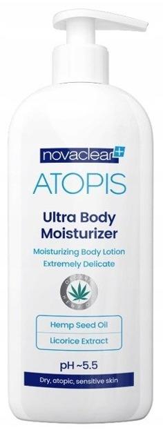 Novaclear ATOPIS Ultra Body Moisturizer Nawilżający balsam do ciała 500ml