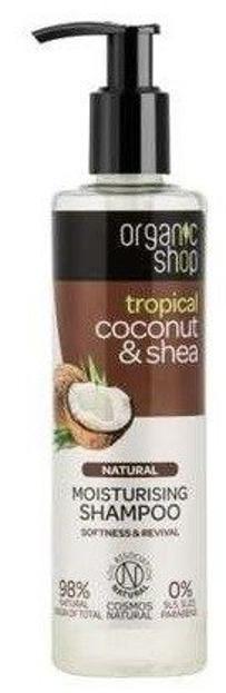Organic shop Szampon nawilżający Coconut&Shea 280ml