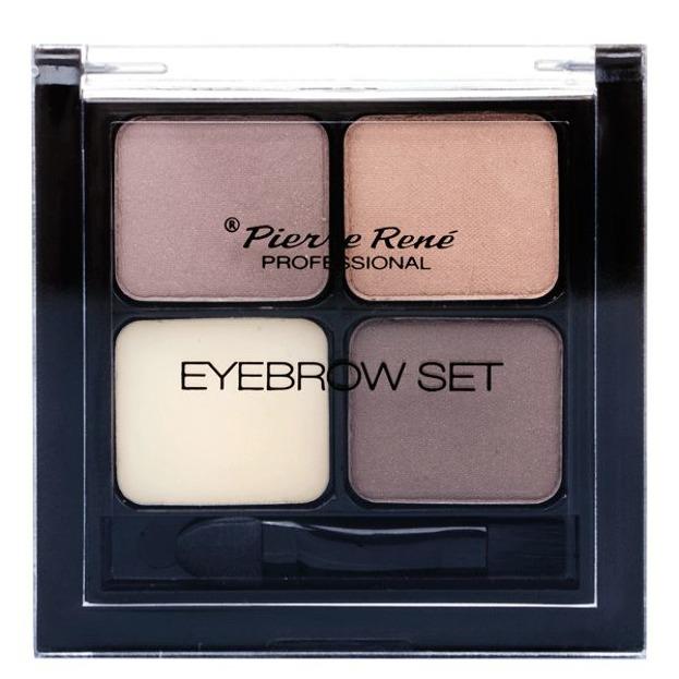 Pierre Rene Eyebrow Set 001 - Stylizator do brwi, 4,5 g